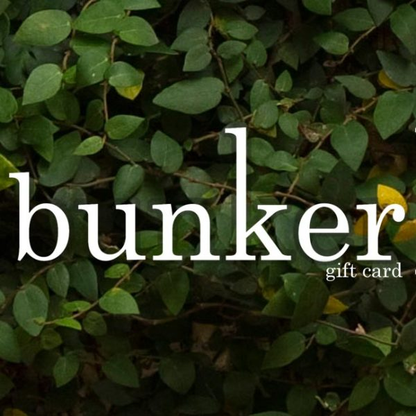 Bunker Gift Card Front Back